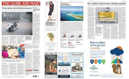 The Globe and Mail – August 28, 2017