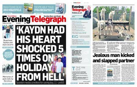 Evening Telegraph First Edition – July 31, 2018
