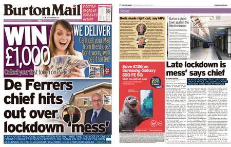 Burton Mail – January 06, 2021