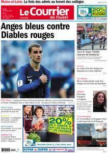 Le Courrier de l'Ouest Angers - 10 juillet 2018