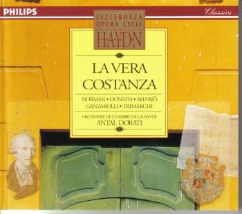 Joseph Haydn -  La Vera Costanza (1976)