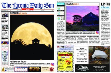 The Laconia Daily Sun – September 20, 2019