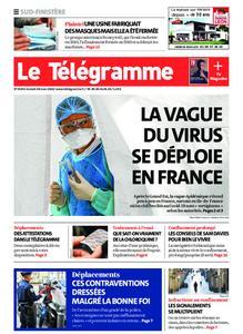 Le Télégramme Concarneau – 28 mars 2020