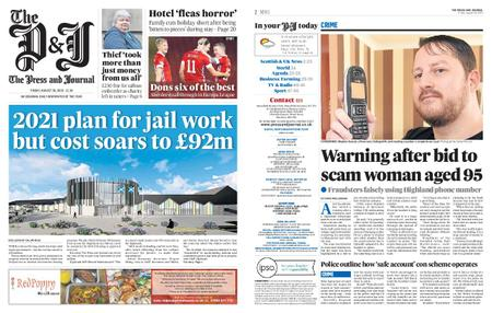 The Press and Journal Moray – August 28, 2020