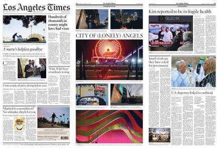 Los Angeles Times – April 21, 2020