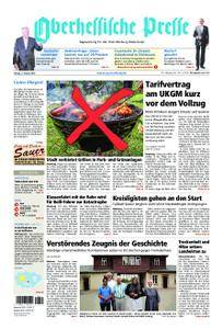 Oberhessische Presse Marburg/Ostkreis - 03. August 2018