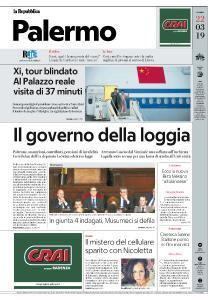 la Repubblica Palermo - 22 Marzo 2019