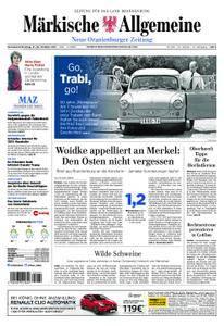 Neue Oranienburger Zeitung - 21. Oktober 2017