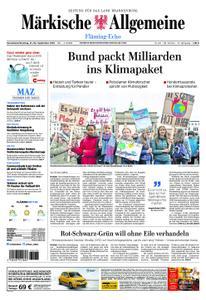 Märkische Allgemeine Fläming Echo - 21. September 2019