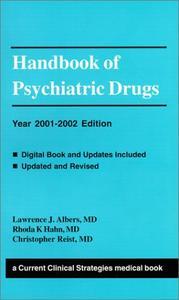 Handbook of Psychiatric Drugs: 2001-2002 Edition