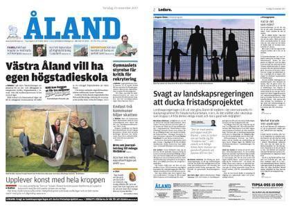 Ålandstidningen – 23 november 2017