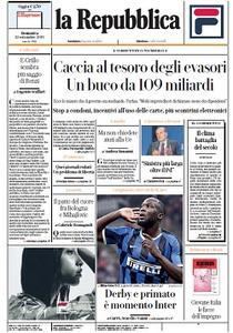 la Repubblica - 22 Settembre 2019