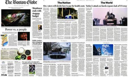 The Boston Globe – January 23, 2018