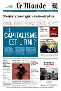 Le Monde du Dimanche 13 et Lundi 14 Octobre 2019