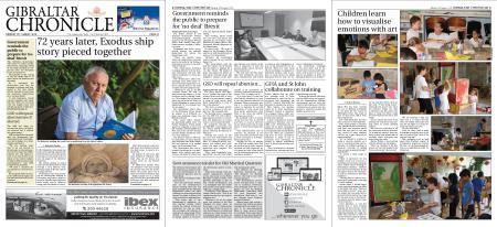 Gibraltar Chronicle – 12 August 2019
