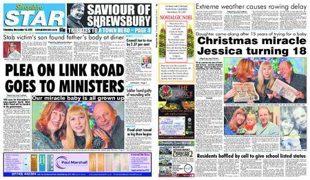Shropshire Star Shrewsbury Edition – December 14, 2017