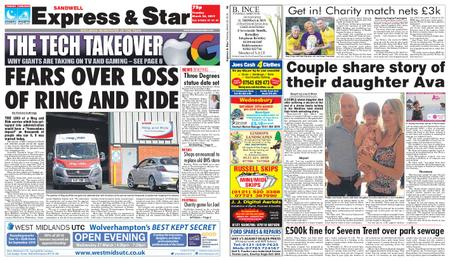 Express and Star Sandwell Edition – March 26, 2019