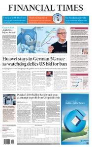 Financial Times USA - April 15, 2019