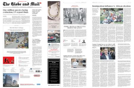 The Globe and Mail – May 07, 2019