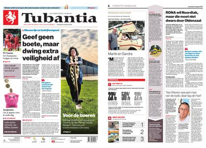 Tubantia - Enschede – 14 augustus 2019