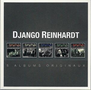 Django Reinhardt - Albums Originaux [5CDs] (2014) {Warner}