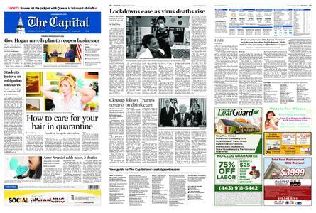 The Capital – April 25, 2020