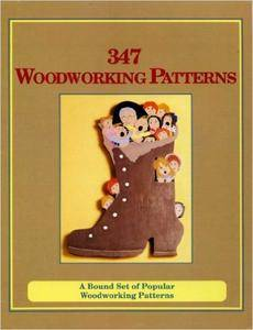 347 Woodworking Patterns: A Bound Set of Popular Woodworking Patterns (repost)