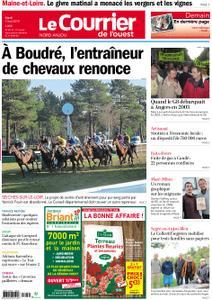 Le Courrier de l'Ouest Nord Anjou – 07 mai 2019
