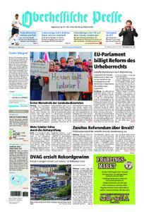 Oberhessische Presse Marburg/Ostkreis - 27. März 2019