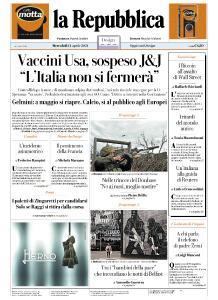 la Repubblica - 14 Aprile 2021