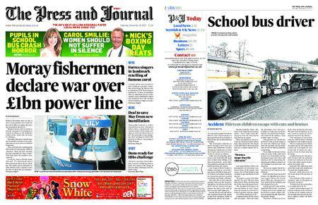 The Press and Journal Moray – December 16, 2017