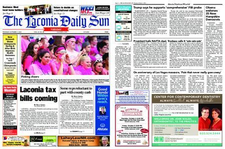 The Laconia Daily Sun – October 02, 2018