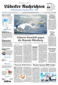 Lübecker Nachrichten Ostholstein Süd - 15. November 2018