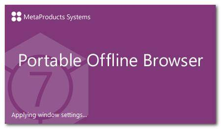 MetaProducts Portable Offline Browser 7.6.4630 Multilingual
