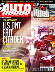 Auto Hebdo - 08 février 2019