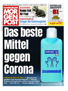 Hamburger Morgenpost – 13. März 2020
