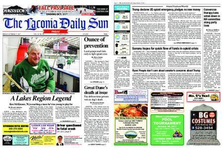 The Laconia Daily Sun – October 27, 2017