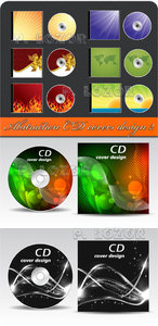 Abstraction CD covers design 2