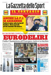 La Gazzetta dello Sport con edizioni locali - 13 Marzo 2020