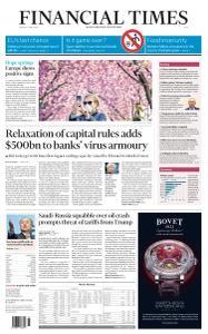 Financial Times Asia - April 6, 2020