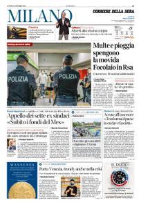 Corriere della Sera Milano – 12 ottobre 2020