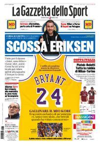 La Gazzetta dello Sport – 28 gennaio 2020