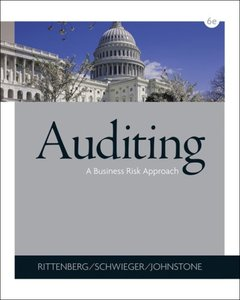Auditing: A Business Risk Approach, 6 edition