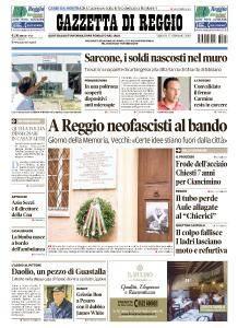 Gazzetta di Reggio - 27 Gennaio 2018