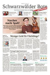 Schwarzwälder Bote Blumberg - 20. April 2019
