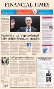 Financial Times Europe – 25 July 2019
