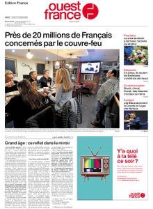 Ouest-France Édition France – 15 octobre 2020