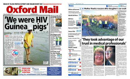 Oxford Mail – December 01, 2017