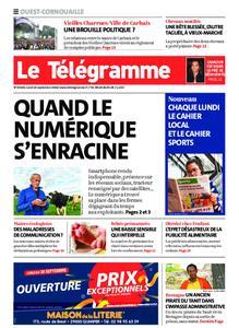 Le Télégramme Ouest Cornouaille – 14 septembre 2020