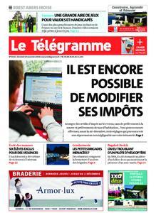 Le Télégramme Brest Abers Iroise – 29 novembre 2019